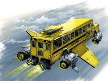 Roleplay character: Hero High Flying School Bus (NPC)