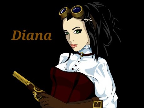 Roleplay character: Diana Montclaire