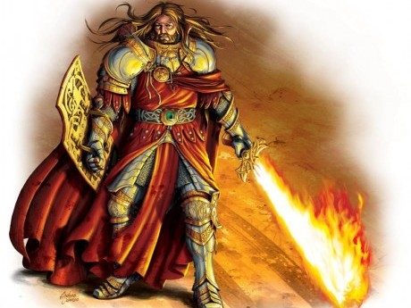 Roleplay character: Rothog the holy fire