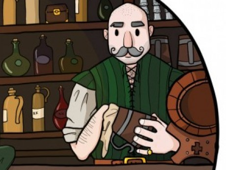 Roleplay character: Bourbon the Bartender