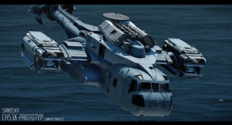 Roleplay character: CH-53S Heavy Lift Transport VTOL