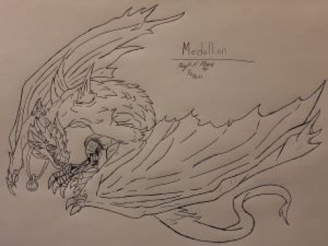 Roleplay character: Medallion - Inara's Dragon
