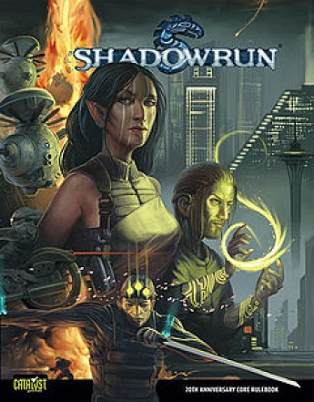 Shadow Run - roleplaying game