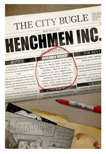 Henchmen Inc. logo