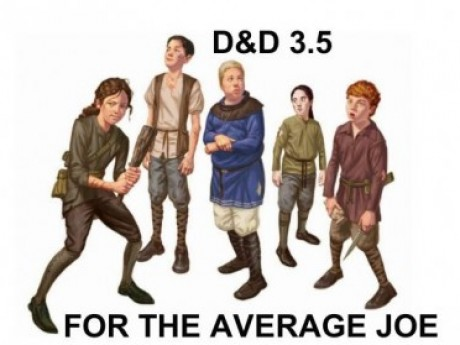 D&D For The Average Joe play-by-post roleplaying game
