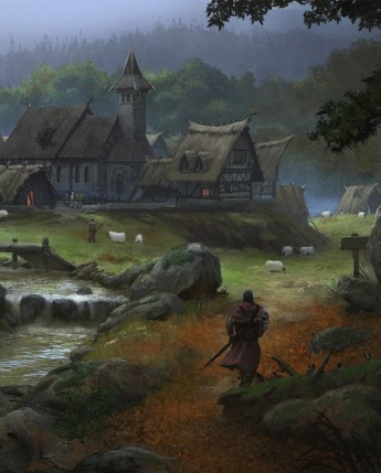 Village of Warfall - roleplaying game